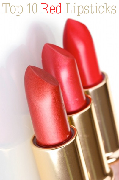 Top 10 Red Lipsticks