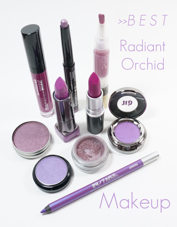 Top 10 Radiant Orchid Makeup Products