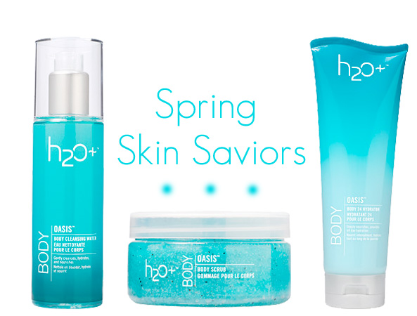 Spring Skin Saviors from H2O Plus.