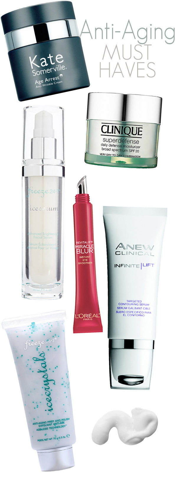 Anti-Aging Must Haves: The best anti-aging creams, moisturizers and eye creams to add to your skin care regimen.