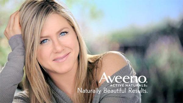 Jennifer Aniston: AVEENO Brand Ambassador