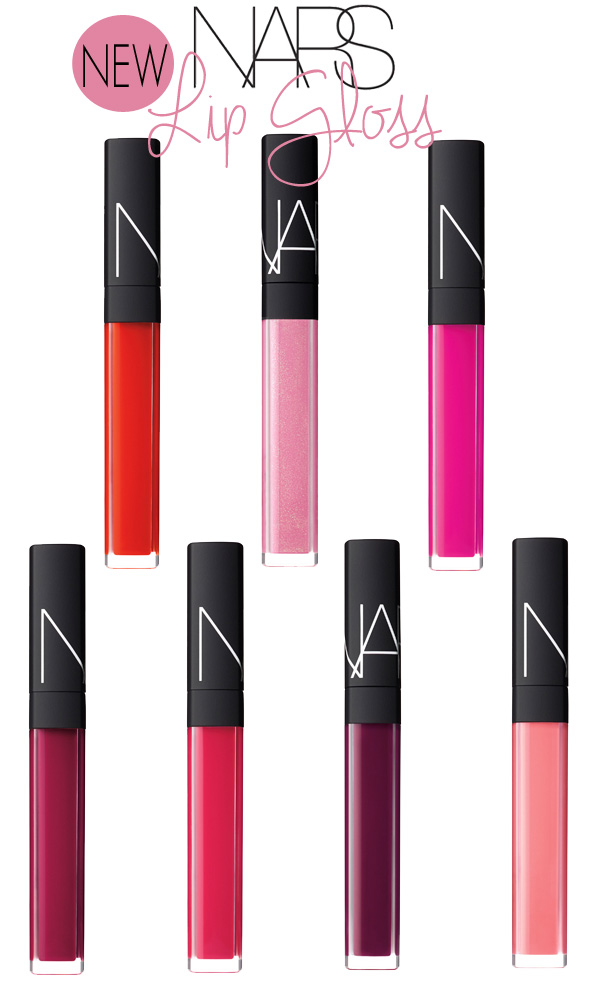 *NEW* NARS Lip Gloss Shades & Reformulation