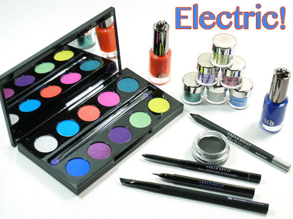 Urban Decay goes electric for summer!