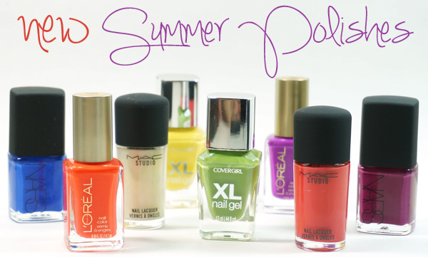 New in Nail Polish for Summer