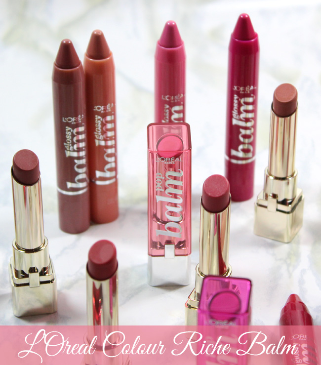 New Lippies to Love from L'Oréal Paris