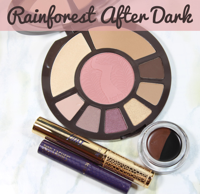 Tarte Cosmetics Fall Collection: Rainforest After Dark