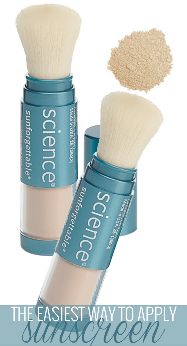 Sun Protection the Easy Way with Colorescience Sunforgettable Mineral Sunscreen