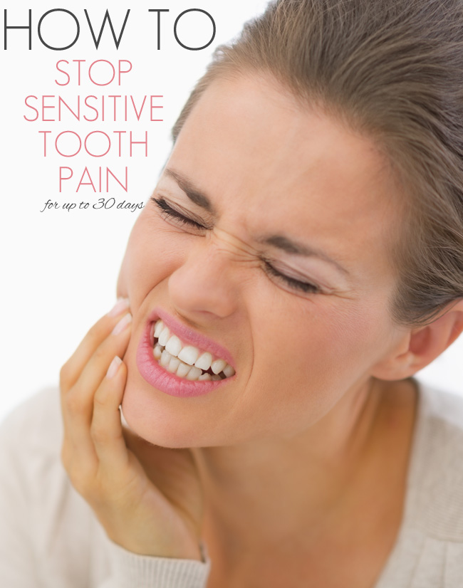 How to Stop Sensitive Tooth Pain