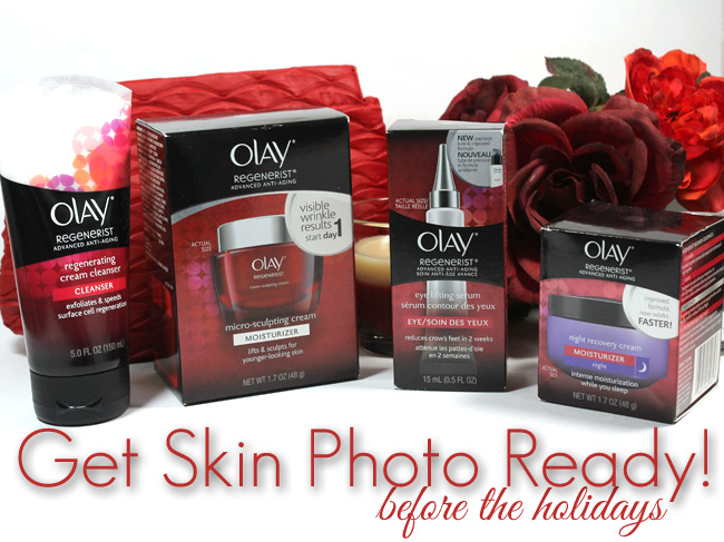 Get Camera Ready for the Holidays with Olay