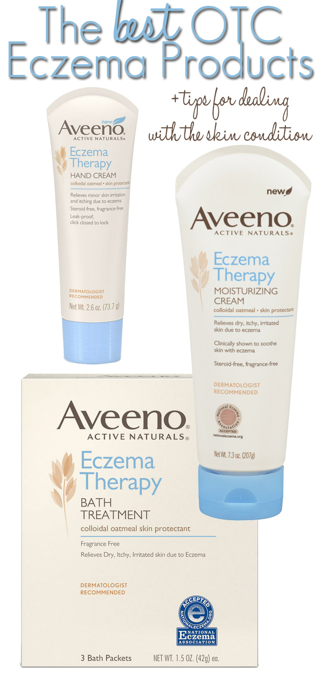 The Best Products + Tips for Dealing with Eczema.