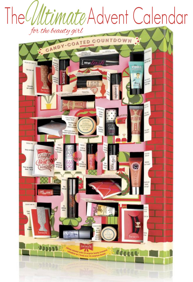 Benefit Candy-Coated Countdown Advent Calendar
