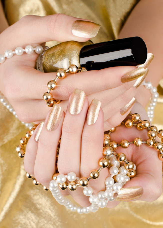 Best Silver + Gold Nail Polish