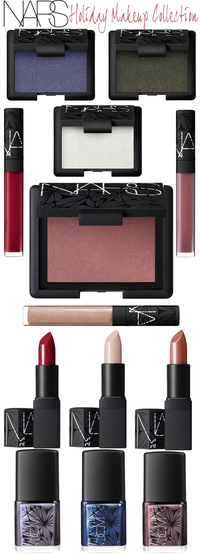 NARS Laced with Edge Holiday Color Collection