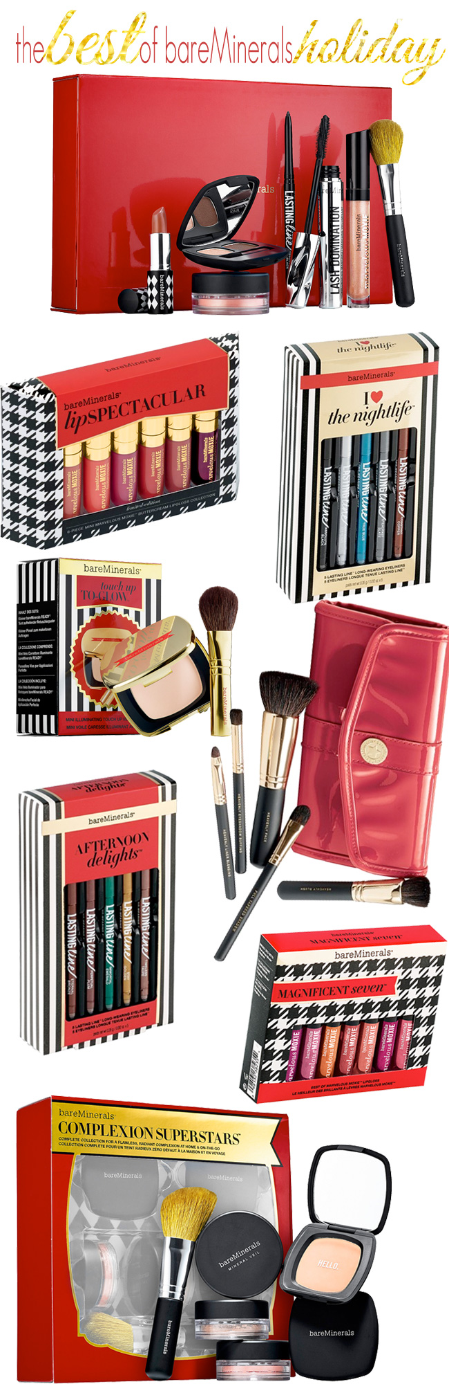 The best of bareMinerals beauty gifts for the holidays!
