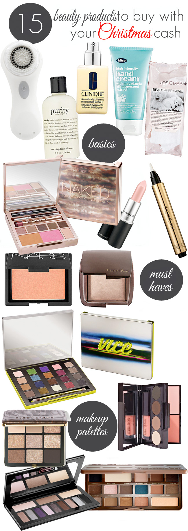 15 Beauty Products to Buy with Your Christmas Cash