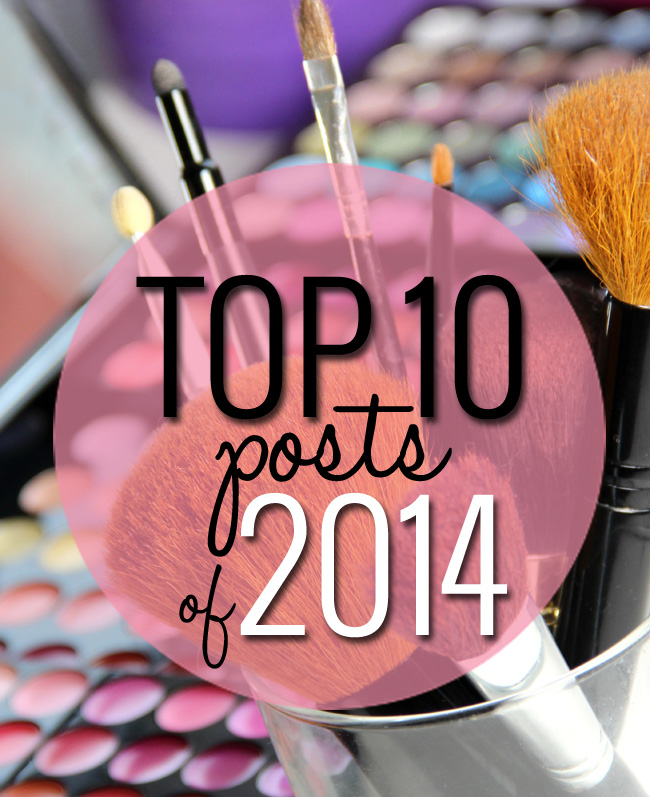 Top 10 Beauty Posts of 2014 - See what top beauty bloggers talked about in 2014