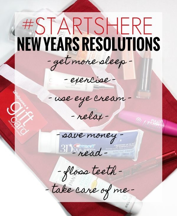 Walgreens has everything you need – for all your health and wellness goals – to help you start and keep those New Year's resolutions all year long!