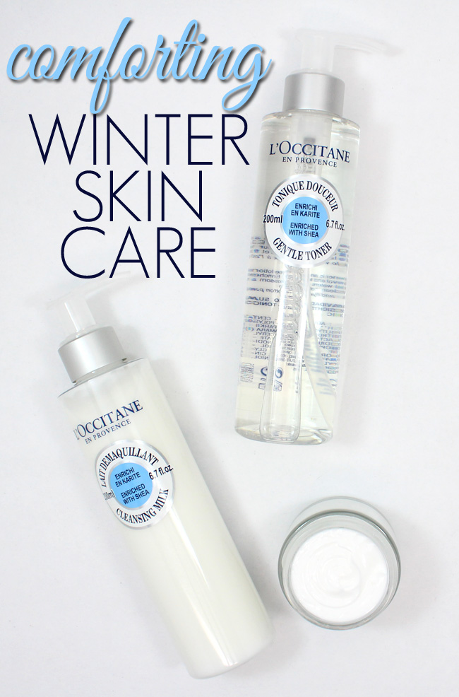 Comforting Winter Skin with L'Occitane