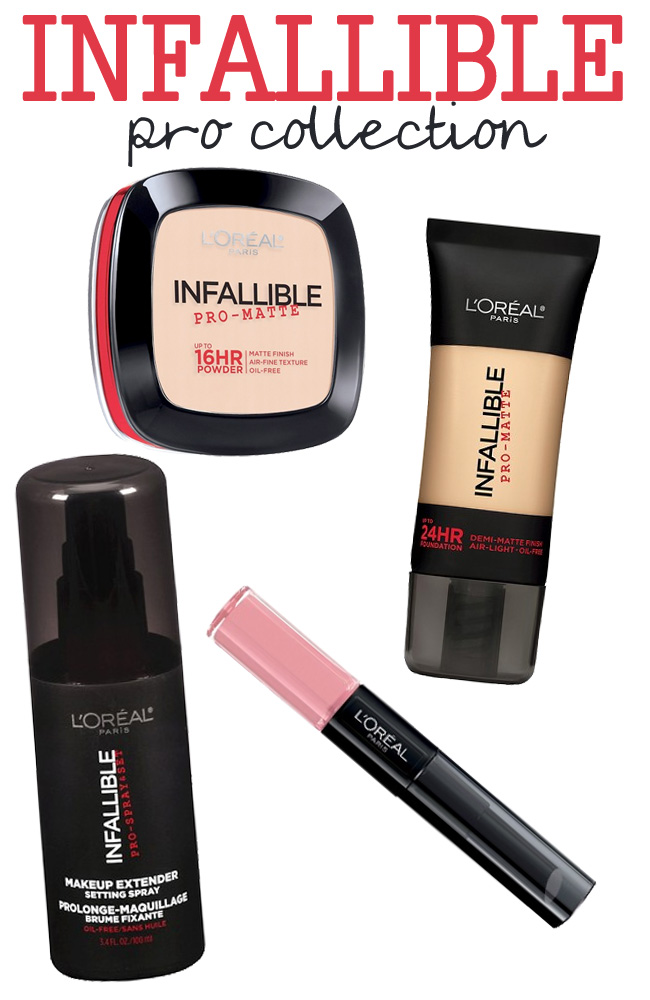 L'Oréal Paris Infallible Pro Collection