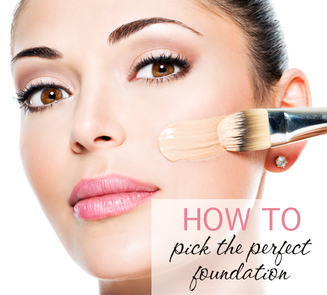 How to Pick Your Perfect Foundation + Tips for a Flawless ...