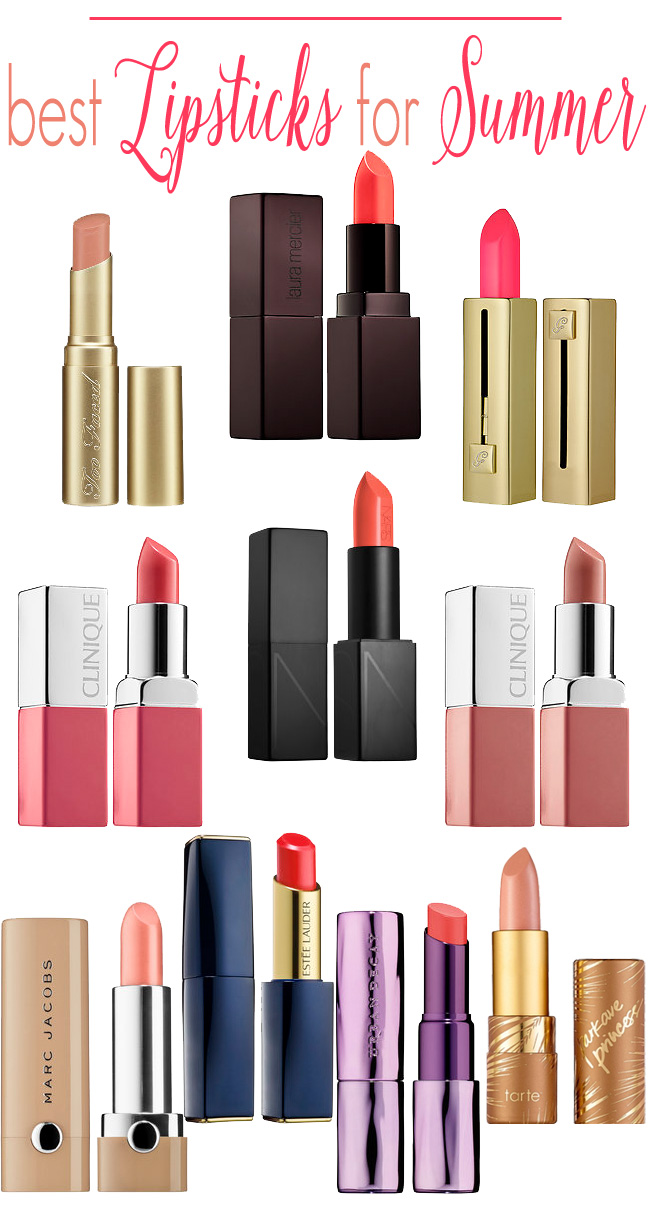 The best lipsticks to wear in the summer: a list of the best nude and bright lipsticks