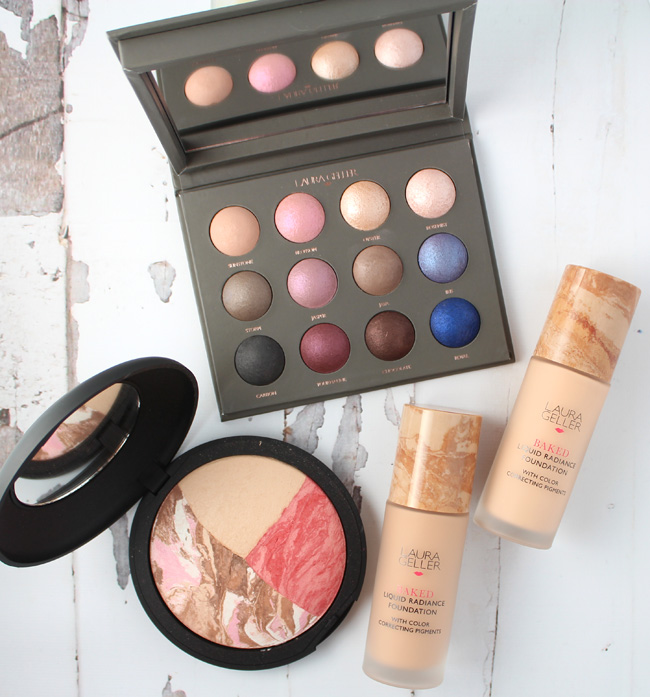 Summer Makeup from Laura Geller Starring Baked Liquid Radiance Foundation