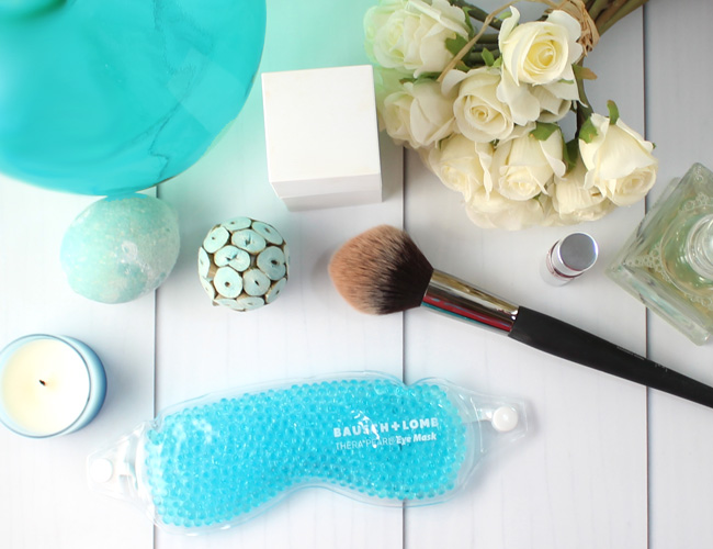 The best solution for my puffy eyes: Bausch + Lomb THERA°PEARL® Eye Mask #spon