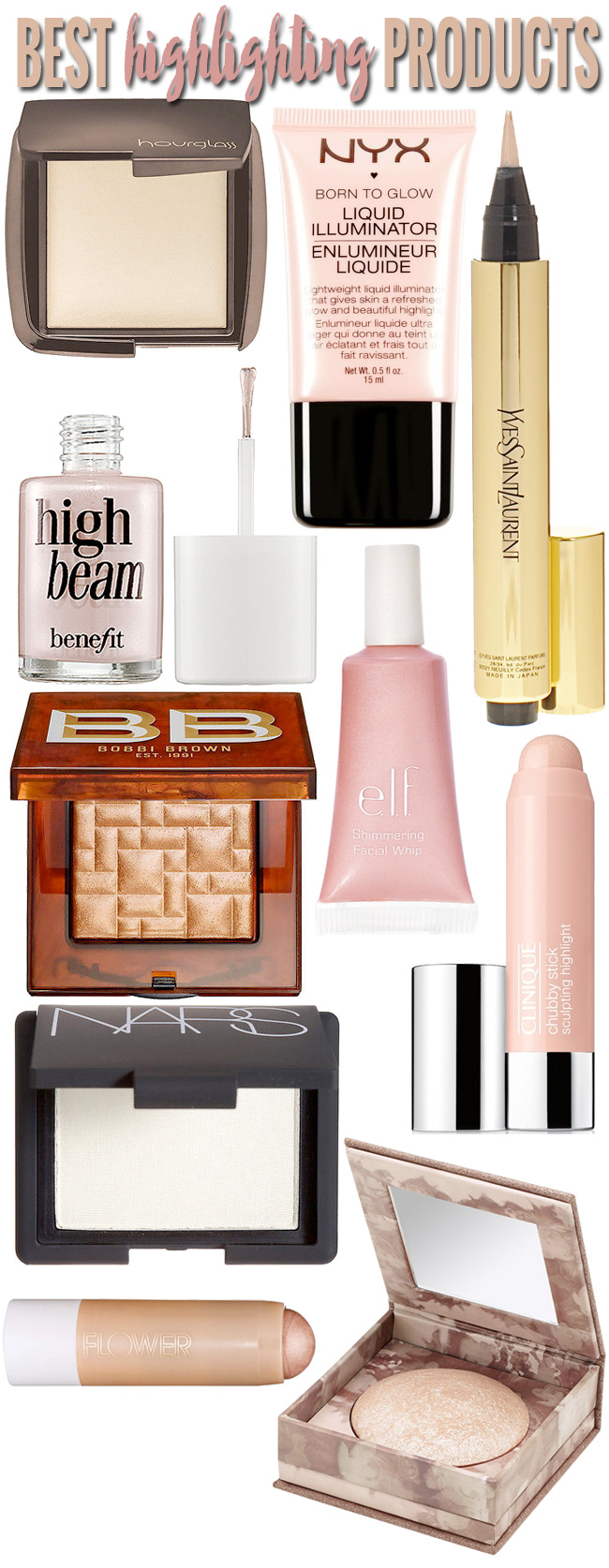 Best Highlighting Makeup Products