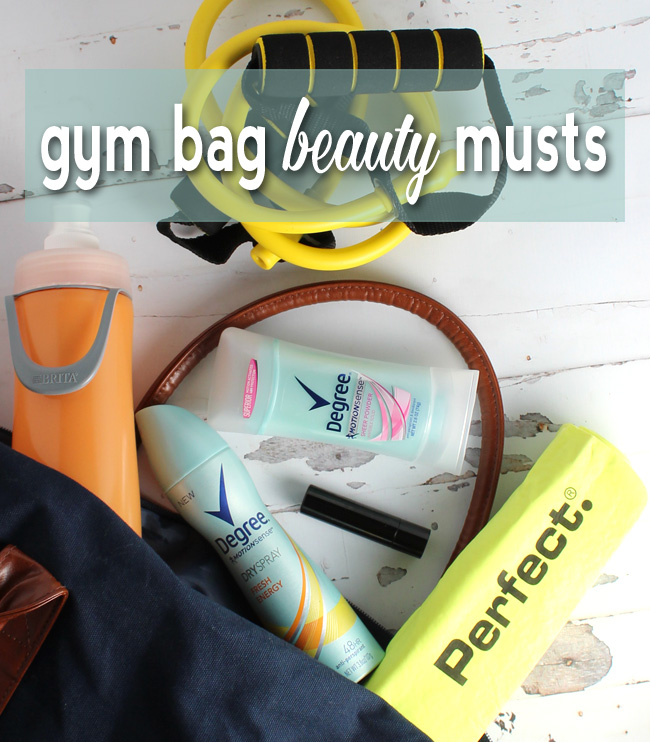 Gym Bag Beauty Musts