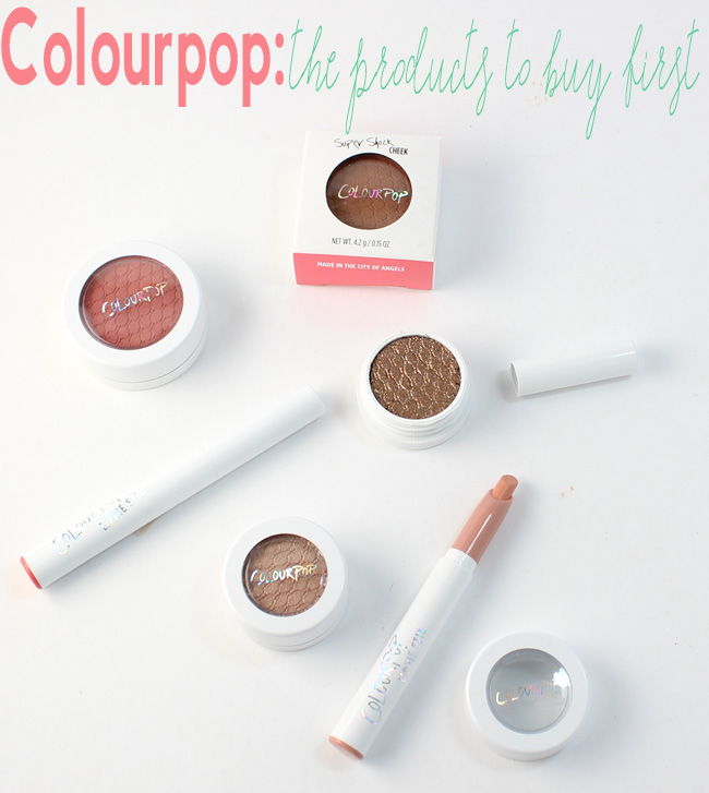 Colourpop: The products to buy first