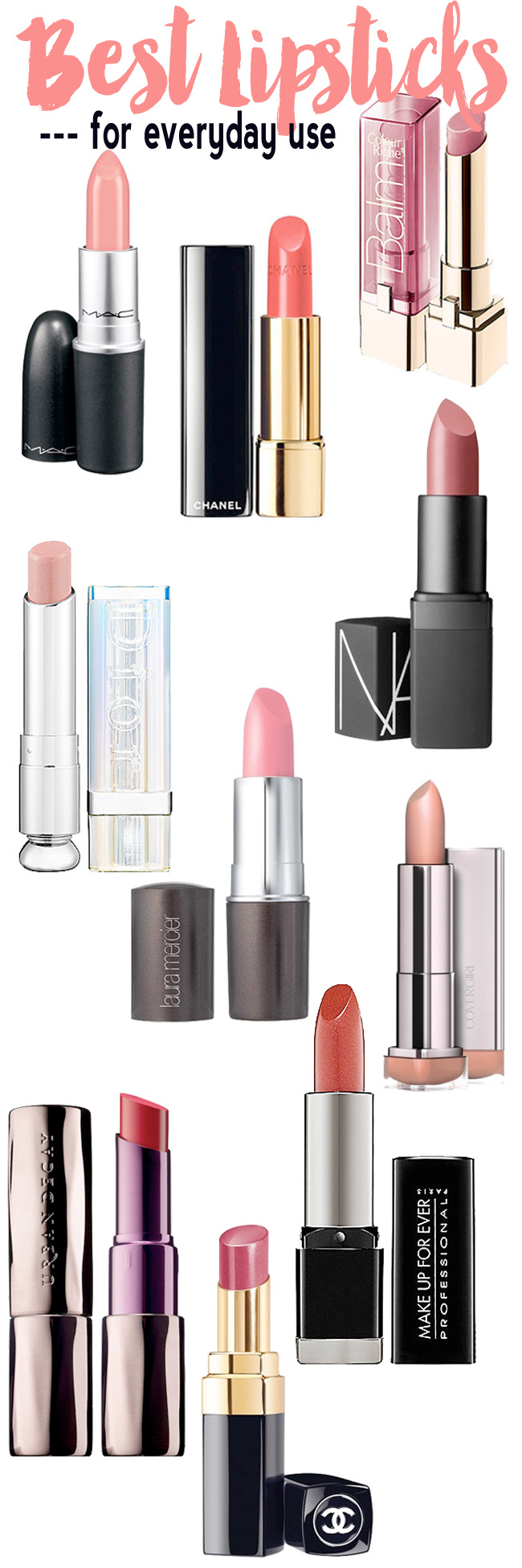 Best Lipsticks for Everyday Use