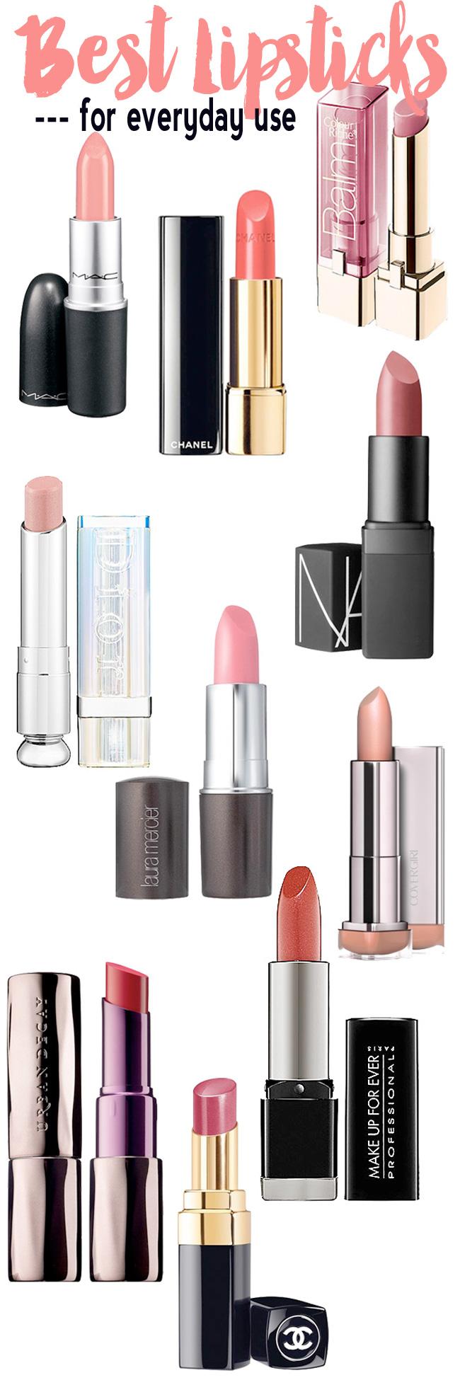 Best Lipsticks for Everyday Use