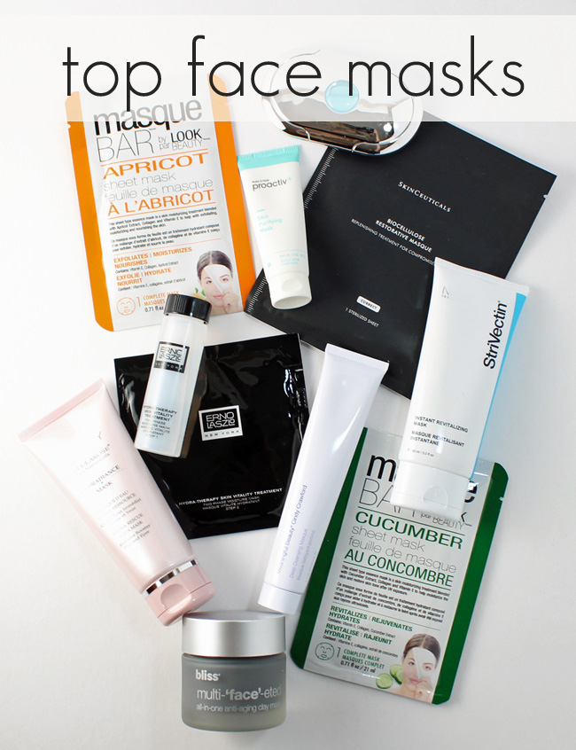 Top Face Masks (perfect for multi-masking)