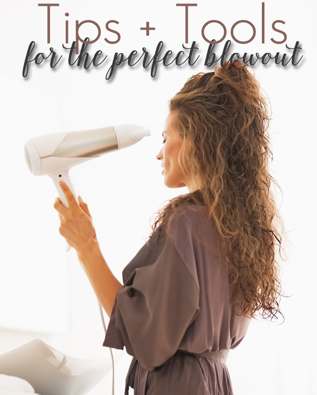 Tips + Tools for a Perfect Blowout at Home