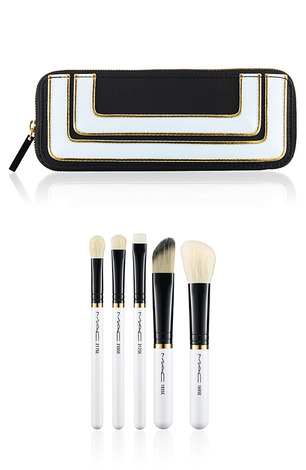 M∙A∙C Holiday Collection 2013 - Stroke of Midnight Brush Kit Essentials