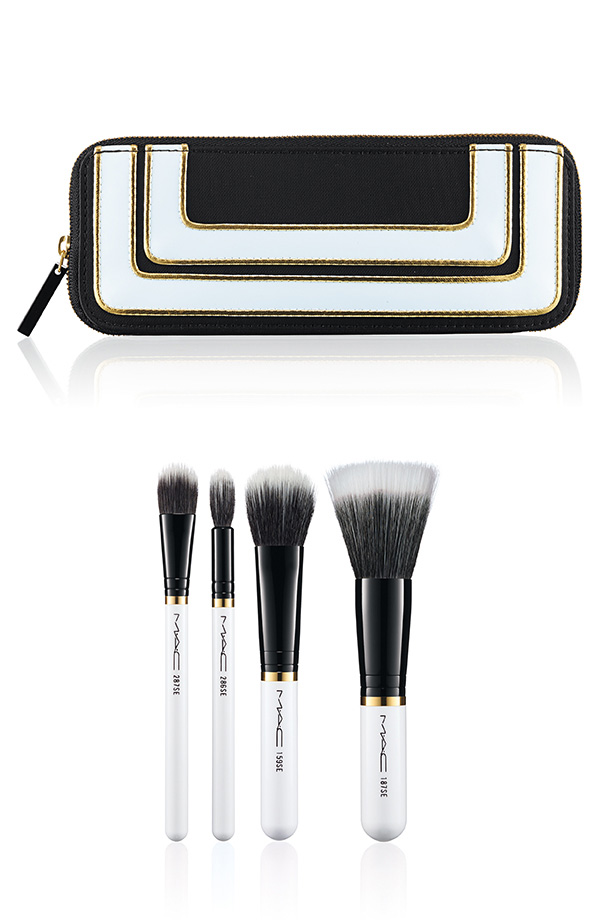 M∙A∙C Holiday Collection 2013 - Stroke of Midnight Brush Kit Mineralize