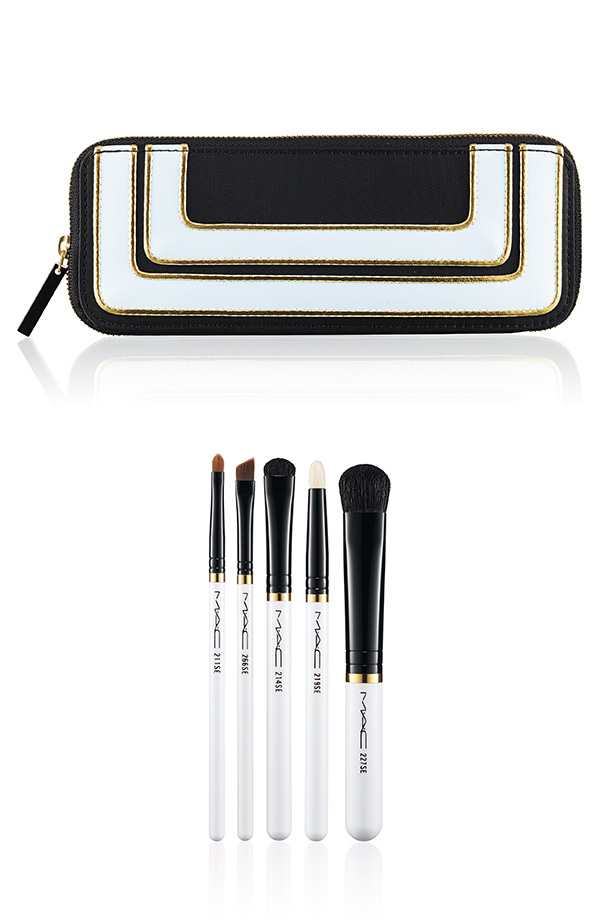 M∙A∙C Holiday Collection 2013 - Stroke of Midnight Brush Kit Smoky Eye