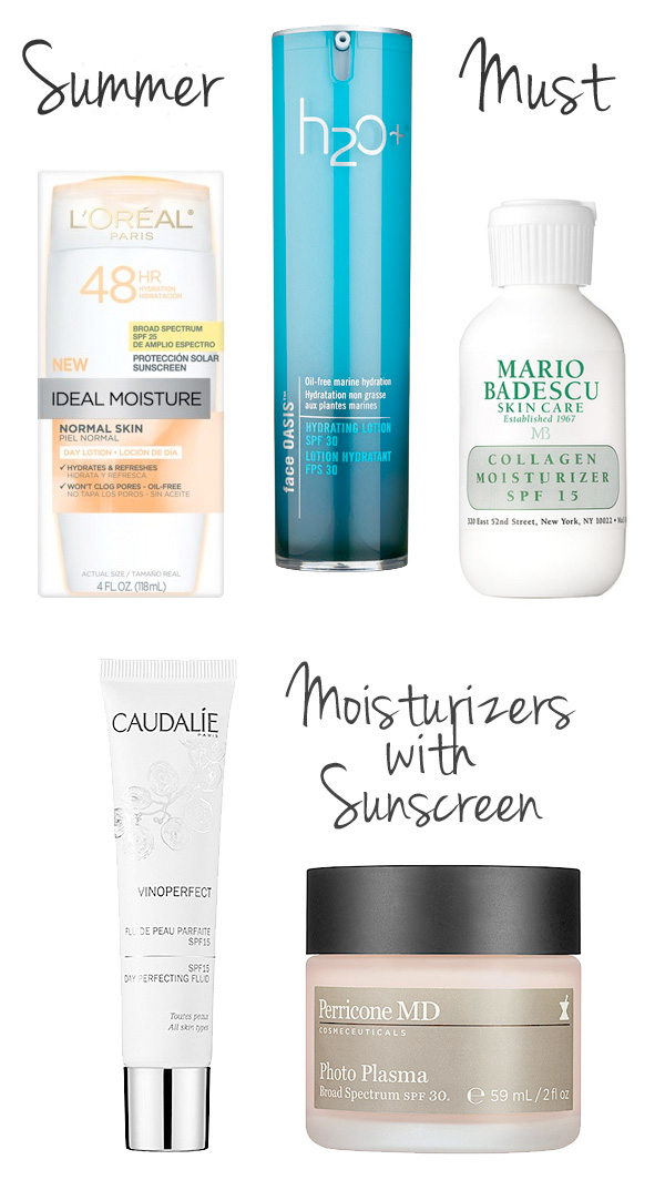 The best day time moisturizers with sunscreen