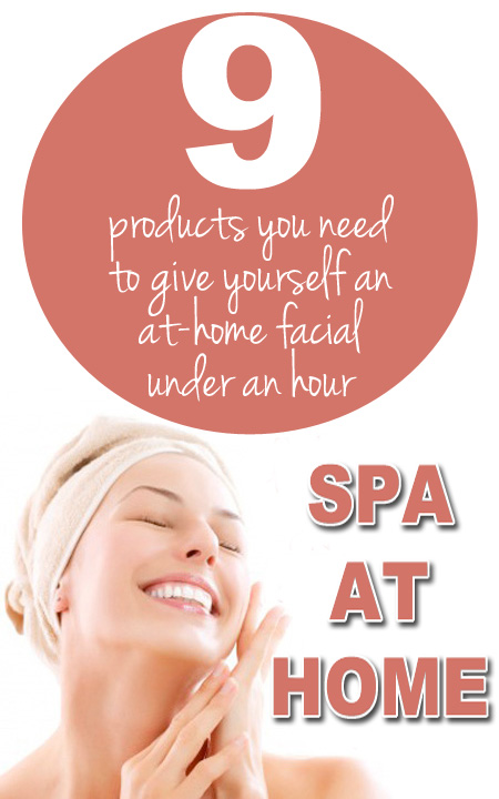 9 Spa at Home Beauty Products