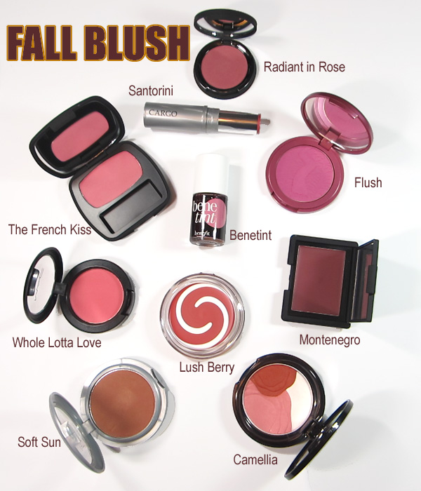 beautiful fall blushes