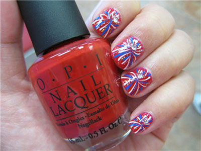 Celebrate The Fourth With Patriotic Nail Designs Beautiful Makeup