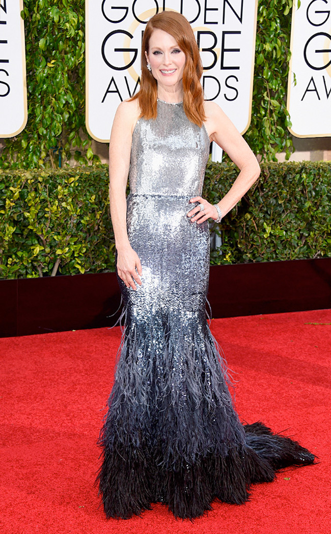 Get the Look: Julianne Moore at the 2015 Golden Globes