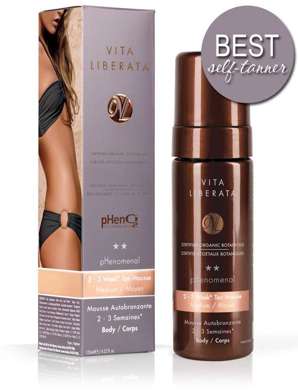 The BEST Self-Tanner: Vita Liberata pHenomenal 2-3 Week Tan Mousse