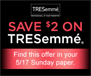 Save $2.00 on TRESemme Perfectly (Un)Done