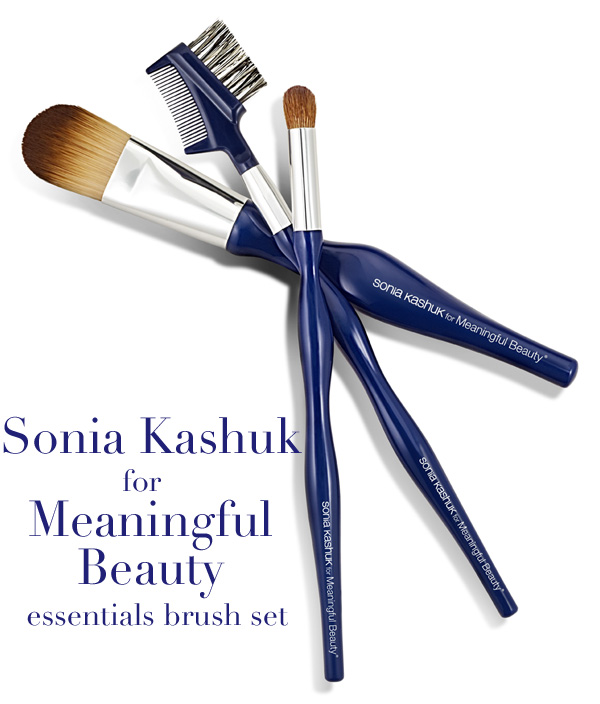 Sonia Kashuk for Meaningful Beauty Essentials Brush Set