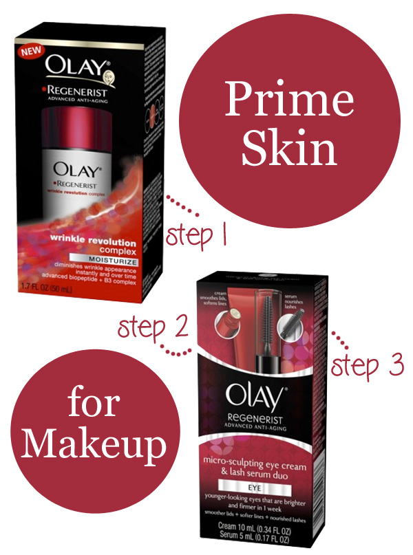 Prime Skin for Makeup with Skin Care