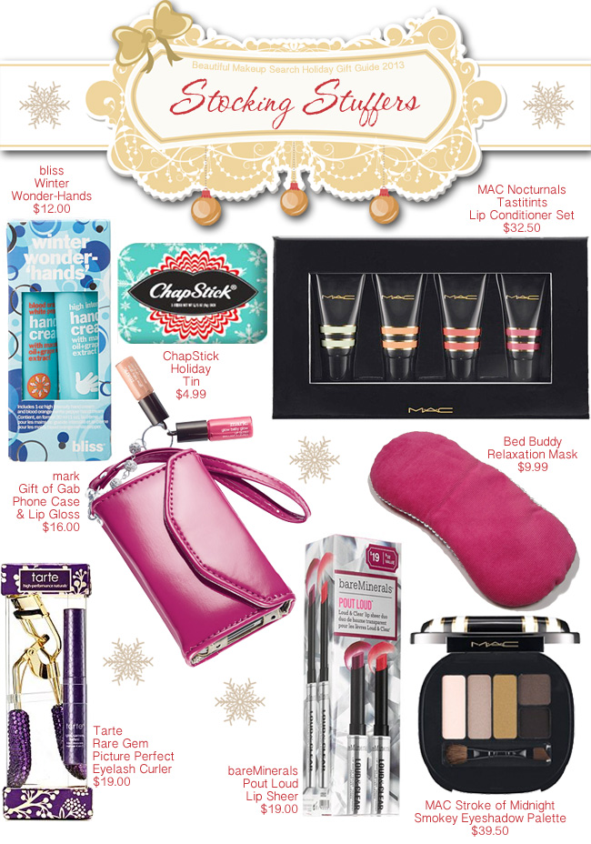 Beautiful Makeup Search Holiday Gift Guide - Stocking Stuffers