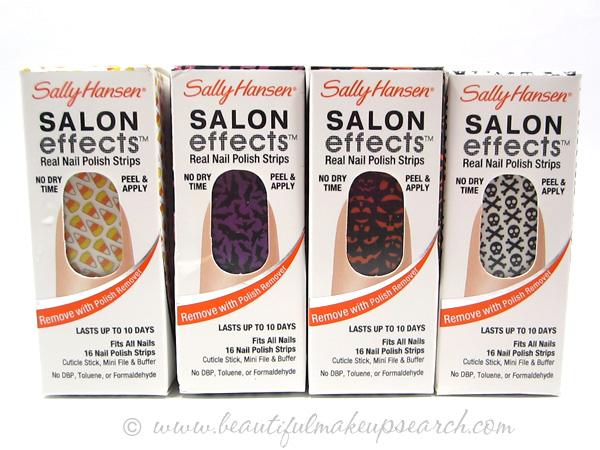 Sally Hansen Salon Effects Halloween Nail Strips