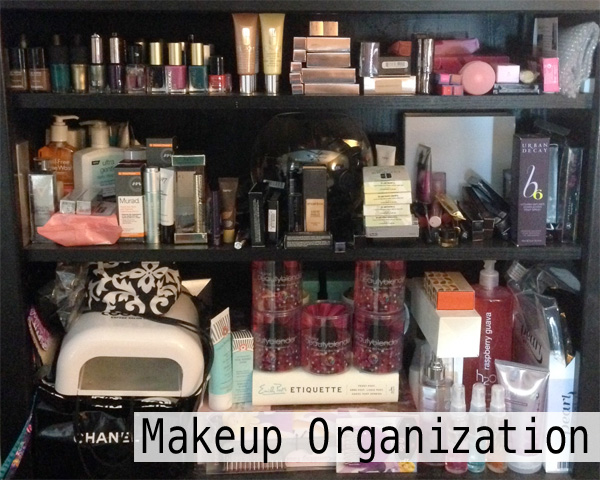 Beauty Blogger Makeup Organization Tips