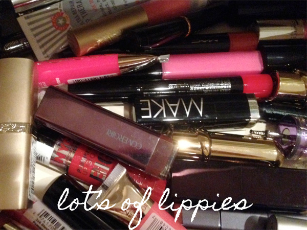 Beautiful Makeup Search Makeup Organization: Lippie Drawer